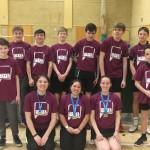 Heathfield CC badminton team