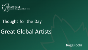 great global artists
